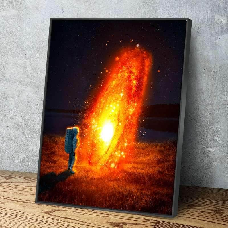 Lava Galaxy Canvas Set