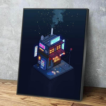 Cyberpunk Juusu Canvas Set