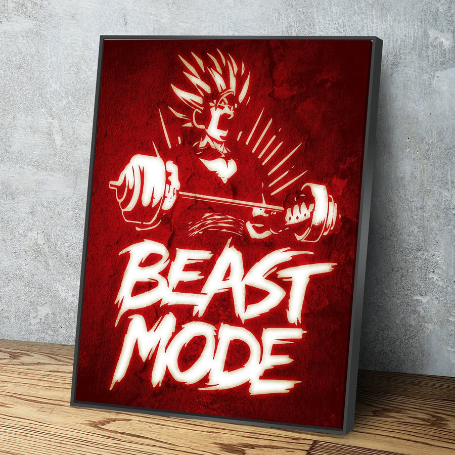 Beast Mode Z Canvas Set