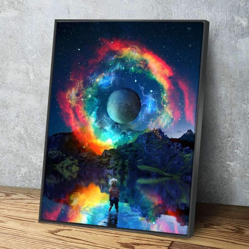 Rainbown Canvas Set