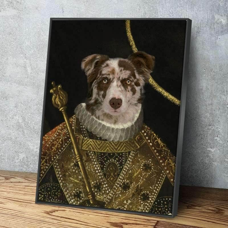 The King Custom Pet Canvas Set