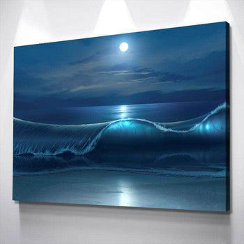 Luminous Crest Canvas Set