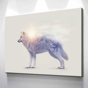 Essence of the Wolf Canvas Set