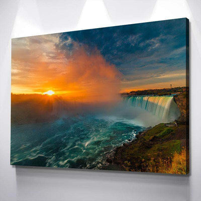 Niagara Rapids Canvas Set