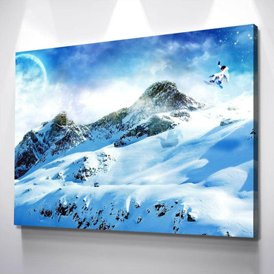 Snowboard Passion Canvas Set