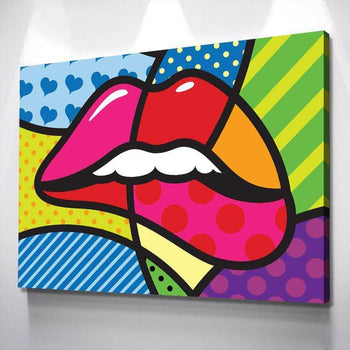 Lip Pop Canvas Set