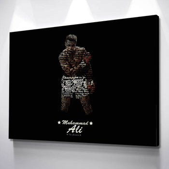 Muhammad Ali Canvas Set