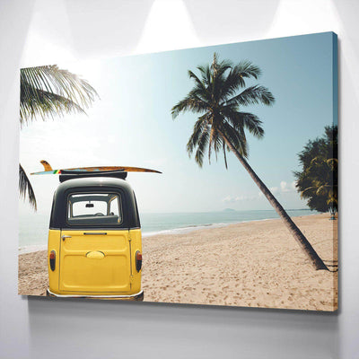 Beach Van Canvas Set