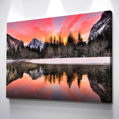 Yosemite Daybreak Canvas Set