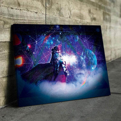 Extraterrestrial Reflection Canvas Set