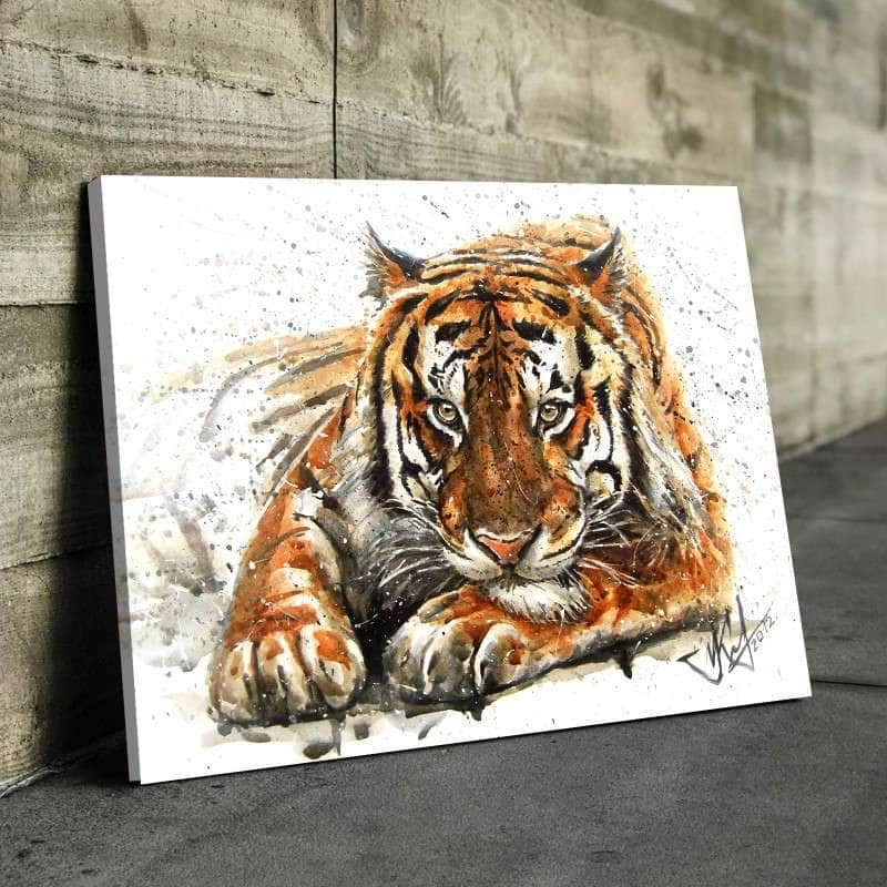 Gnarling Feline Canvas Set
