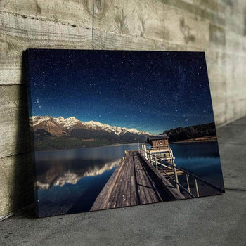 Peace Pond Canvas Set