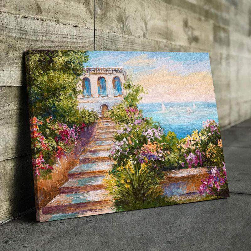 Beach Home Paradise Canvas Set