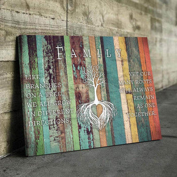 Family Tree Canvas Set