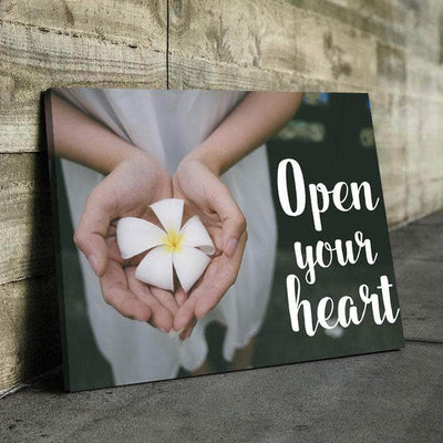 Open Your Heart Canvas Set