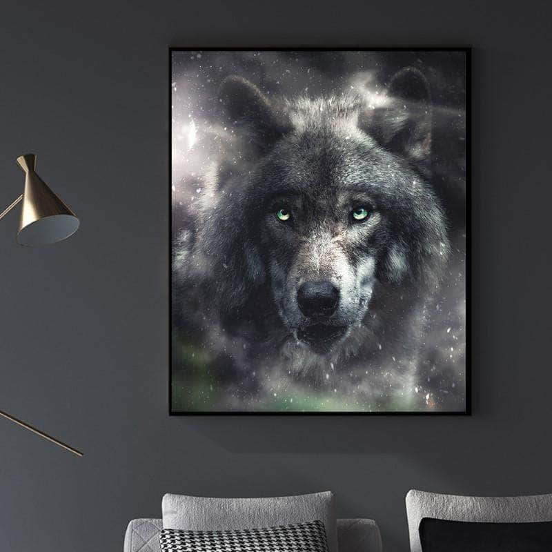 Hungry Wolf Canvas Set