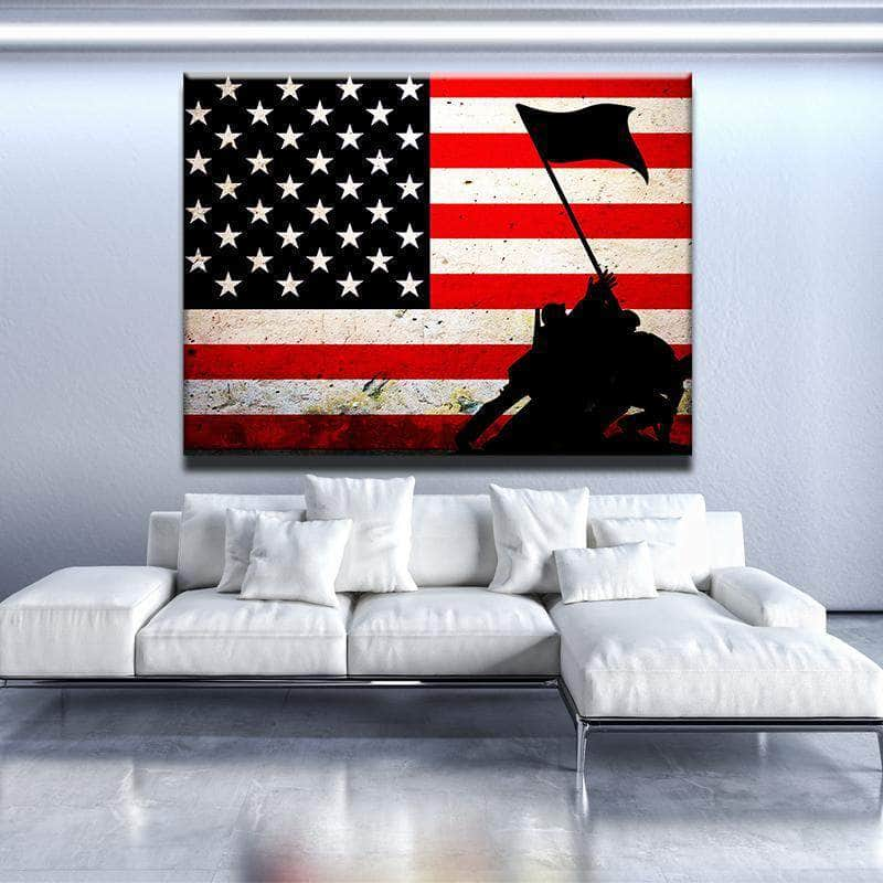 Veterans Canvas Set