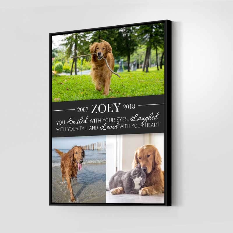 A Pet's Love Custom Canvas Set