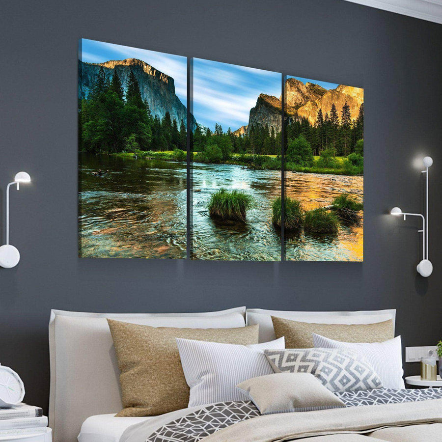 High Noon in Yosemite Canvas Set