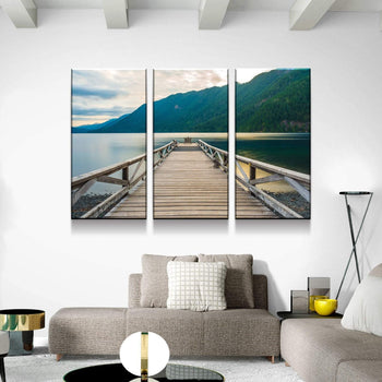 Olympic Lake Dock Canvas Set