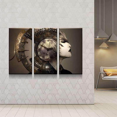 Steampunk Helmet Canvas Set