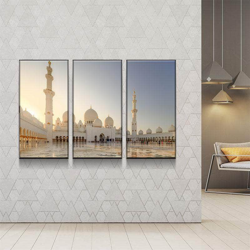 Sheikh Zayed Grand Mosque Canvas Set