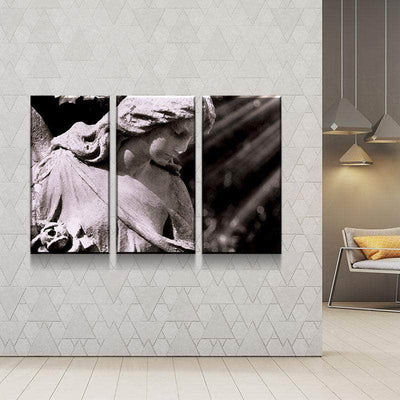 Stone Angel Canvas Set
