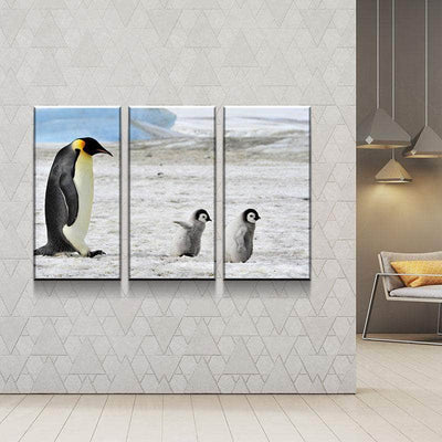 Penguins Canvas Set