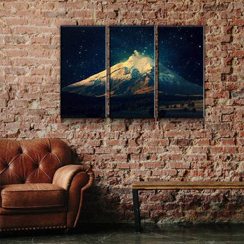 Starlit Mountain Canvas Set