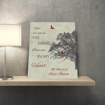 Family Grief Tree Custom Canvas Set