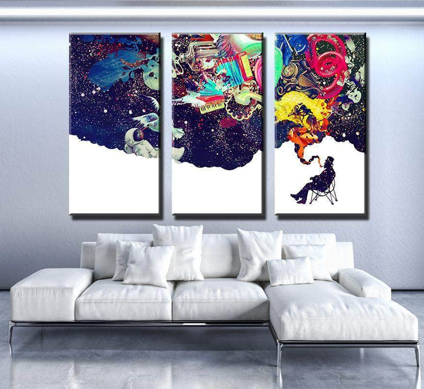 Video Game Canvas Wall Canvas Freaks Wall Art