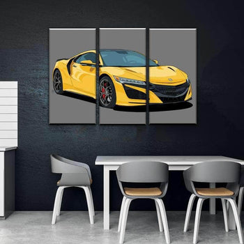 2019 Acura NSX Canvas Set