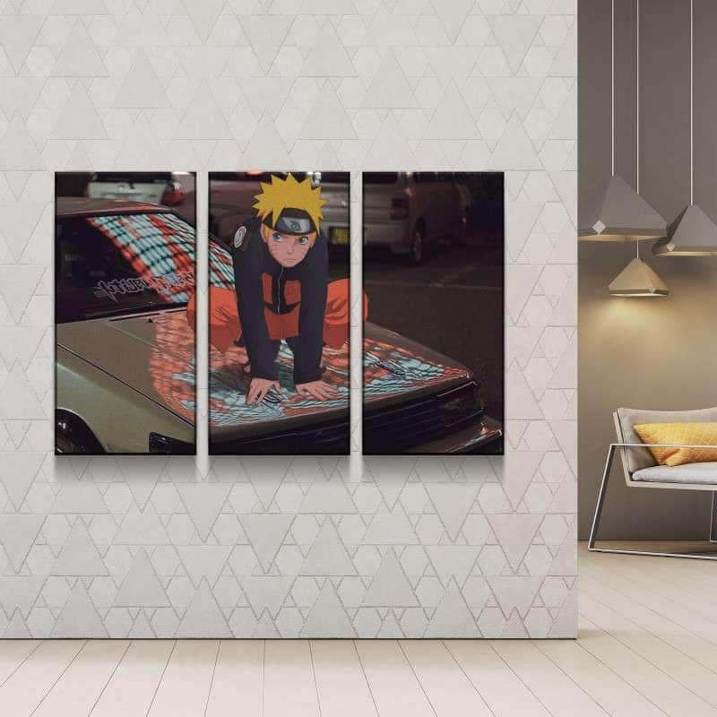 Naruto Vol. 2 Canvas Set