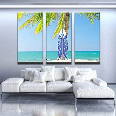 Surfboard Canvas Set