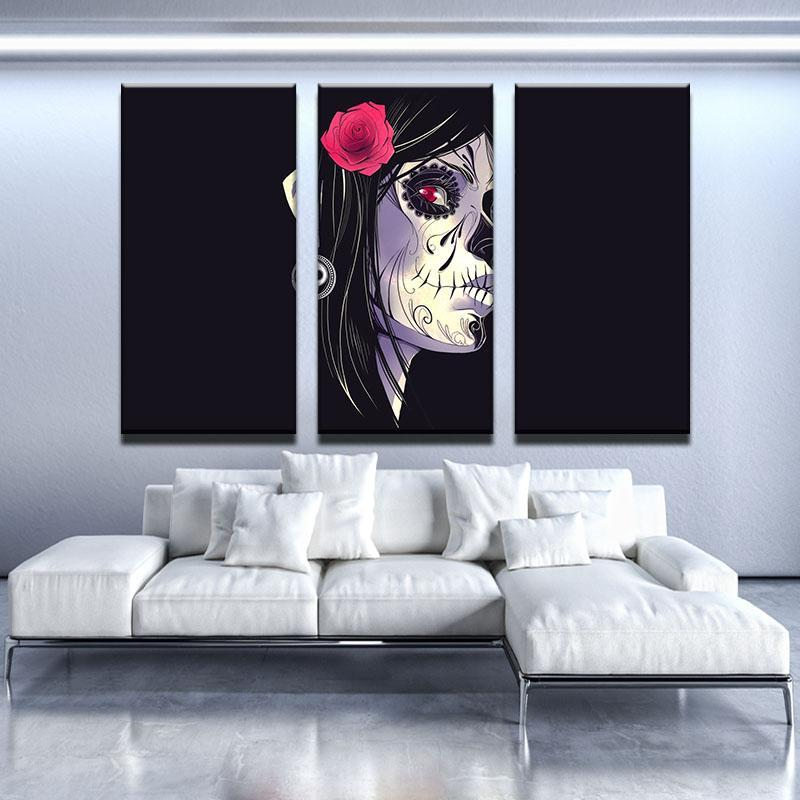Gothic Beauty Canvas Set