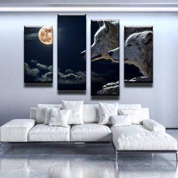 Wolf Moon Canvas Set