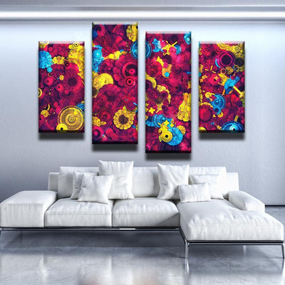 Fractal Attack Canvas Set