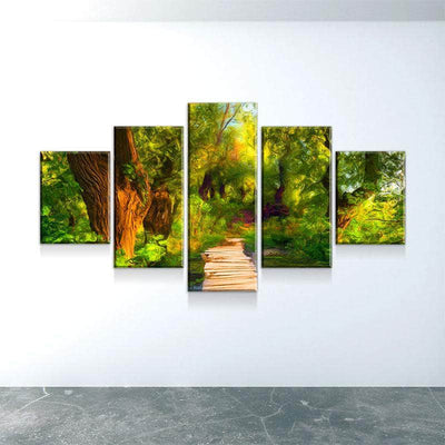 Walk In The Woods Canvas Set