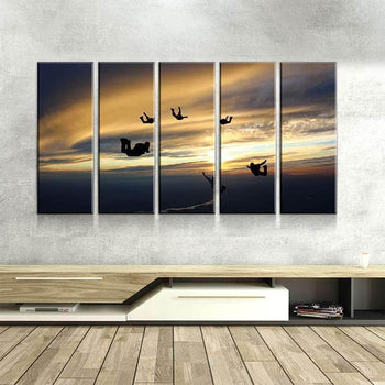 Group Skydive Canvas Set