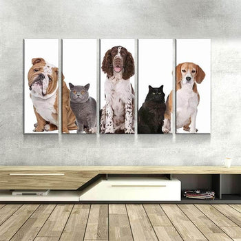 Pets Canvas Set