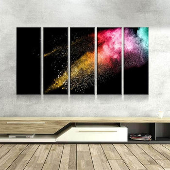 Powder Explosion Canvas Set