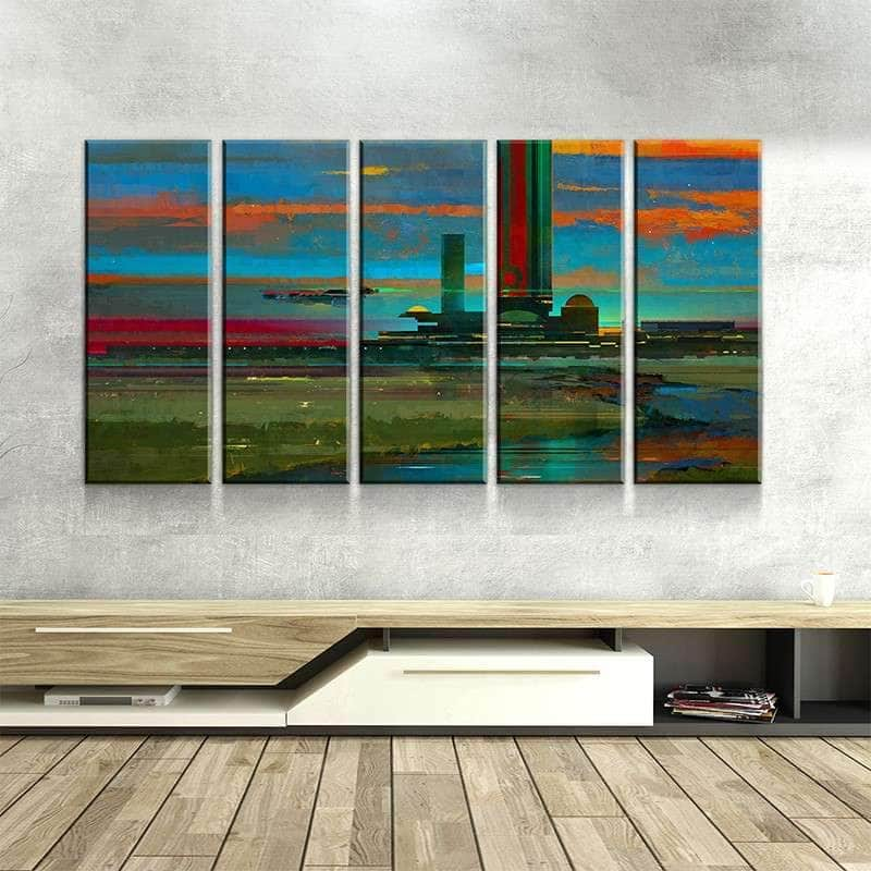 Tranquil Teleport Canvas Set