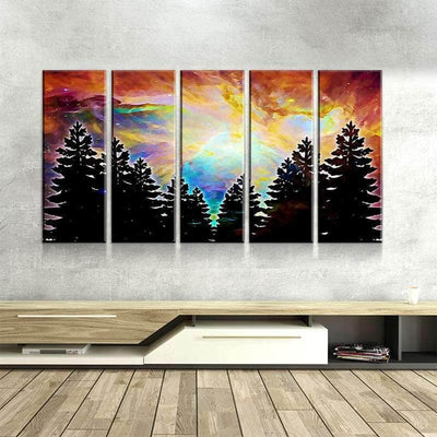 Trippy Forest Canvas Set