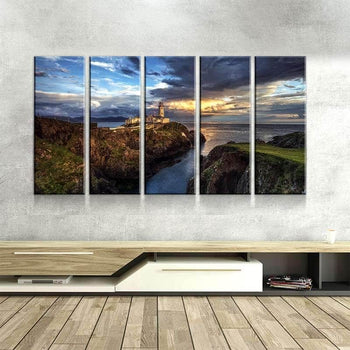 Views of Ireland Canvas Set