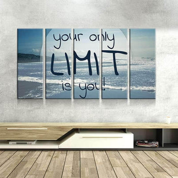 Your Limit is You Canvas Set
