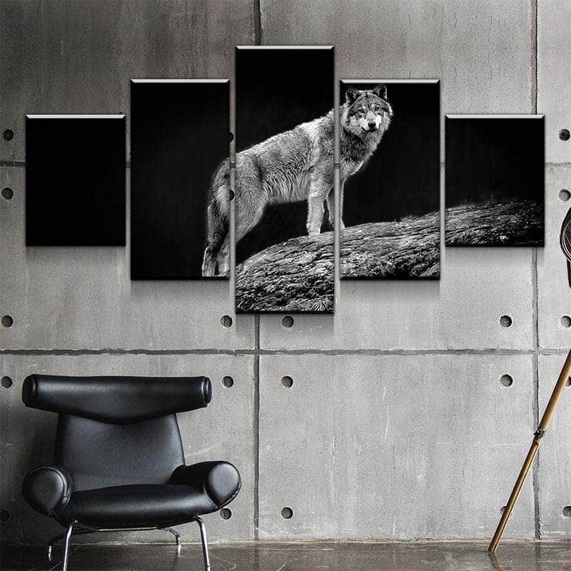 Wolf Glance Canvas Set