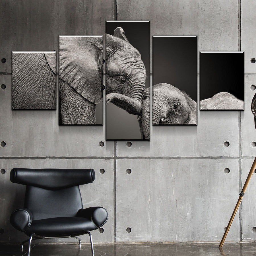 Elephant's Calf Canvas Set