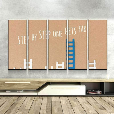 Step by Step Canvas Set