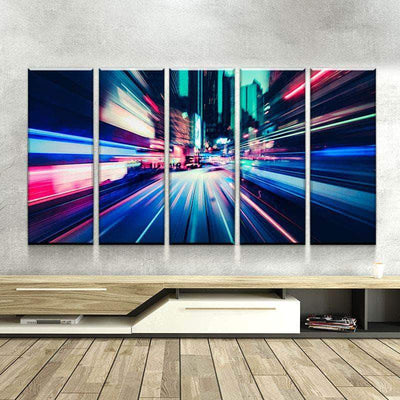 City Flash Canvas Set