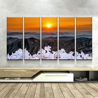 Deogyusan Mountains Canvas Set